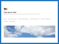 City Serve USA - Christian Website Design Portfolio