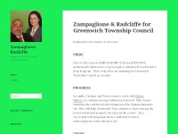 Zampaglione Radcliffe - Christian Designed Website
